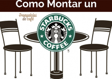 como montar un starbucks coffee