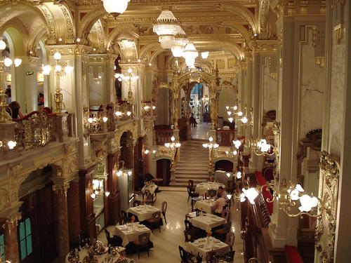 New York Café de Budapest, una de las cafeterías famosas