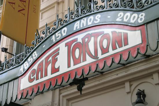 Cafetería Tortoni