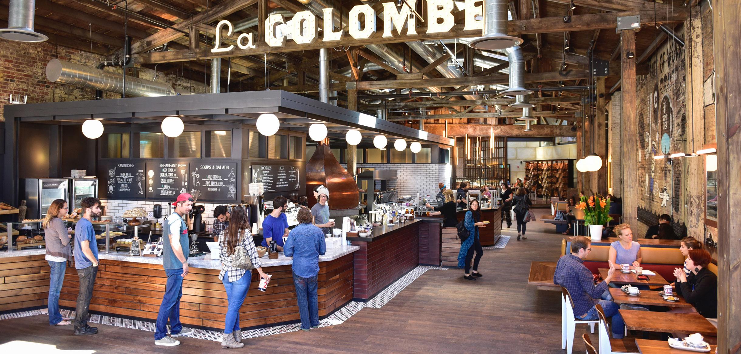 Cafetería la Colombe