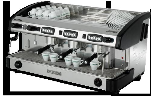 Cafetera profesional para cafeterias