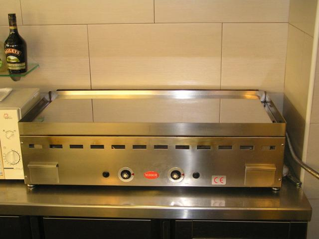 Plancha para cafeterias