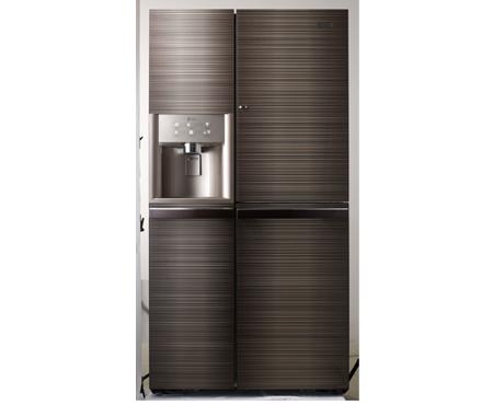 Refrigerador para cafeteria con generador de hielos