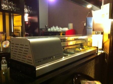 Vitrina refrigeradora para coffee