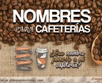 Como elegir un buen nombre para mi negocio de cafetería