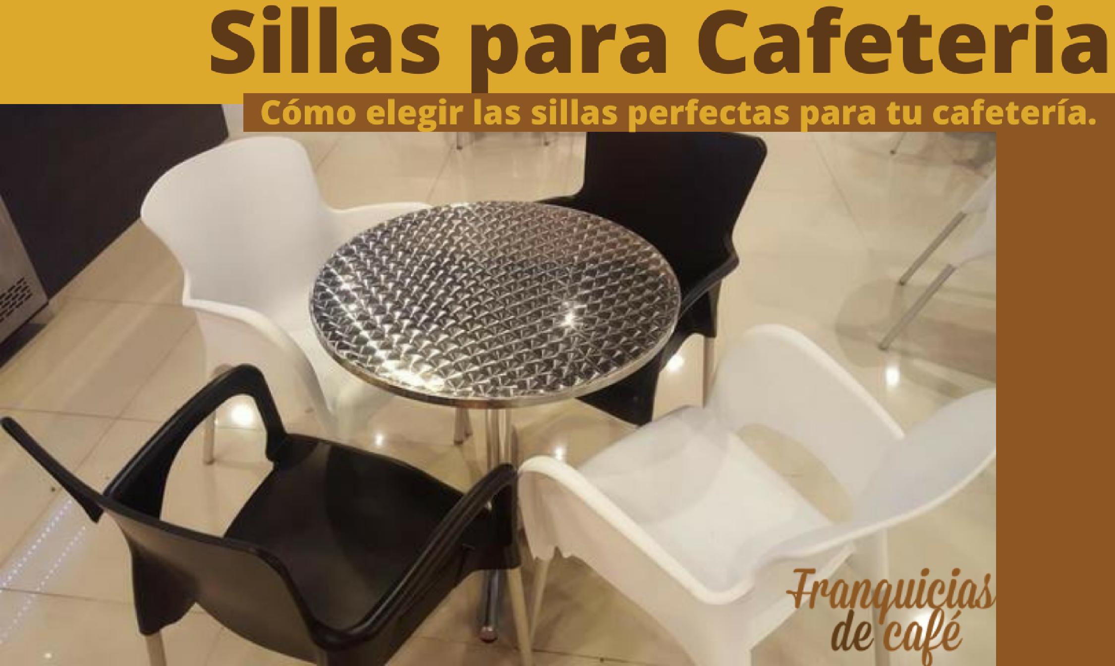 Sillas para cafeteria c mo comprar las correctas para tu negocio - Sillas para cafeteria ...