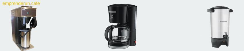 muestra de Percoladoras de café para tu cafeteria